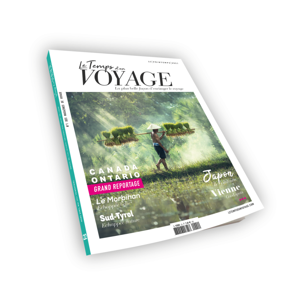 magazine voyage presse decoration article